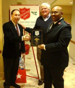 David Director with Salvation Army Representatives 2011