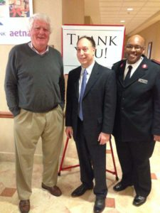 David Director with Salvation Army Representatives 2014