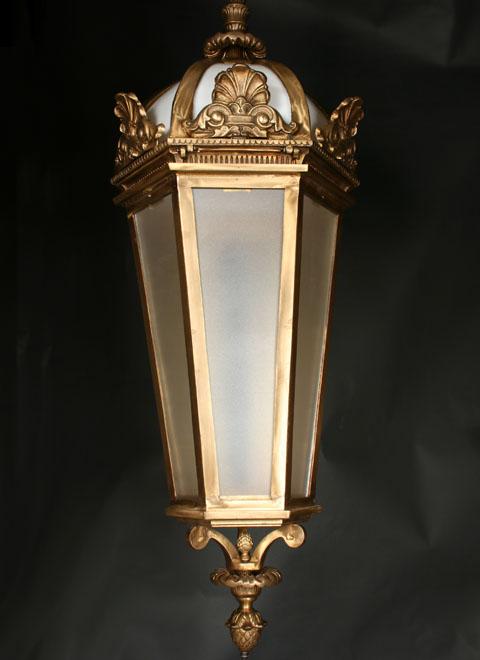 Large Foyer Jewelry : Beautiful large gold london foyer pendant
