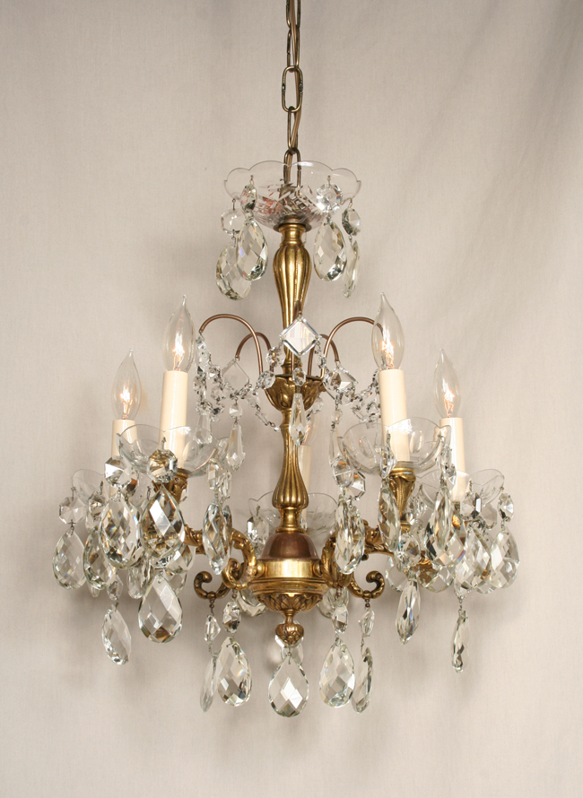 Vintage five light spanish chandelier c 1930 beautiful vintage five light spanish chandelier c 1930 mozeypictures Choice Image