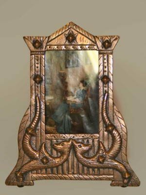 Picture Frame made by Venice Art Bronze Co.