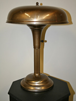 Vintage Machine Age Desk Lamp, c. 1930