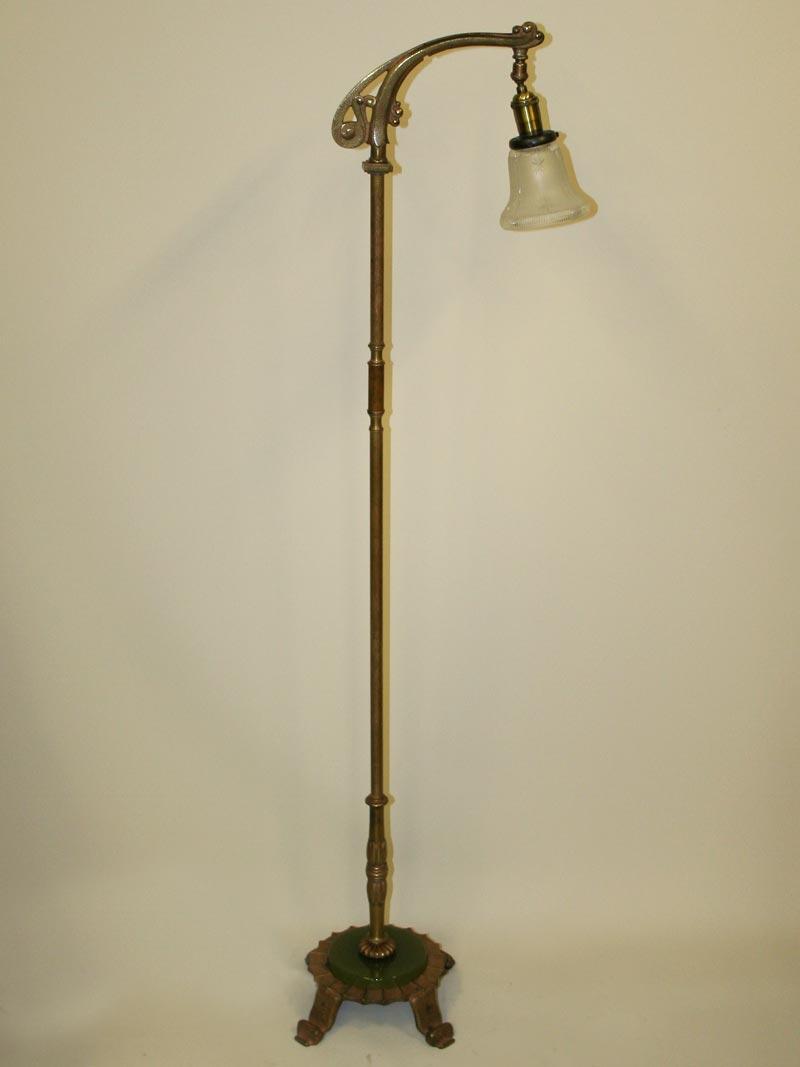 floor lighting 1. Arts \u0026 Crafts Style Bridge Lamp W/ Hammered Detail, C. Floor Lighting 1 S