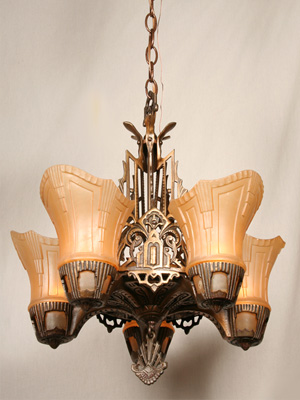 Art Deco Lighting And Parts That Vintage Shop